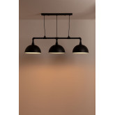 Plafondlamp in metaal Sario, miniatuur afbeelding 3