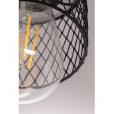 Plafondlamp in metaal Sario, miniatuur afbeelding 6