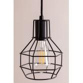Metalen plafondlamp Ivan, miniatuur afbeelding 5