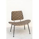 Corvik loungestoel van kunststof rieten, miniatuur afbeelding 2