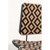Corvik loungestoel van kunststof rieten, miniatuur afbeelding 6