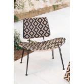 Corvik loungestoel van kunststof rieten, miniatuur afbeelding 1