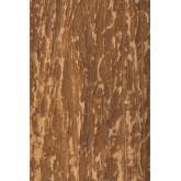 Wandspiegel van gerecycled hout (50x50 cm) Taipu, miniatuur afbeelding 4