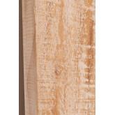 Rechthoekige wandspiegel in hout (120x80 cm) Vuipo, miniatuur afbeelding 5