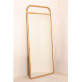 Houten staande spiegel (180x80 cm) Dani, miniatuur afbeelding 3