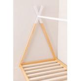 Houten bed voor matras 90 cm Typi Kids, miniatuur afbeelding 3