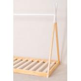 Houten bed voor matras 90 cm Typi Kids, miniatuur afbeelding 4