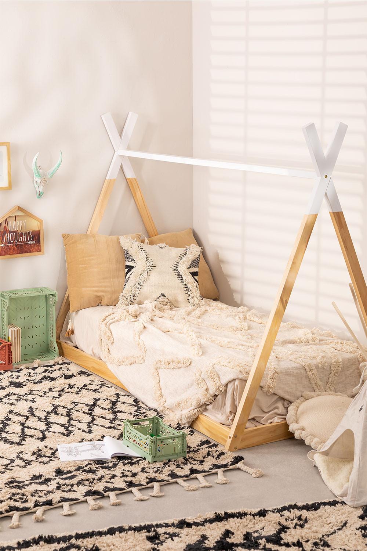 Houten bed voor matras 90 cm Typi Kids, galerij beeld 1