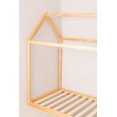 Houten bed voor matras 90 cm Obbit Kids, miniatuur afbeelding 3