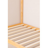 Houten bed voor matras 90 cm Obbit Kids, miniatuur afbeelding 6
