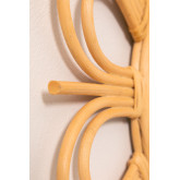 Ronde rotan wandspiegel (Ø60,6 cm) Kraty, miniatuur afbeelding 5