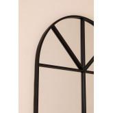 Wandspiegel in metalen raameffect (180x59 cm) Paola L, miniatuur afbeelding 4