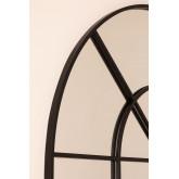 Wandspiegel in metalen raameffect (135x92 cm) Paola, miniatuur afbeelding 4