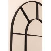 Wandspiegel in metalen raameffect (180x80 cm) Diana, miniatuur afbeelding 4
