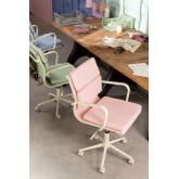 Bureaustoel op wielen Fhöt Colors , miniatuur afbeelding 1