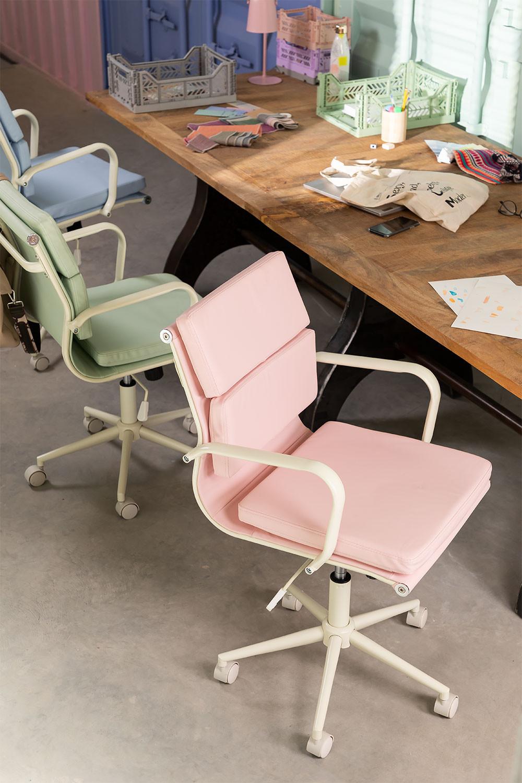 Bureaustoel op wielen Fhöt Colors , galerij beeld 1