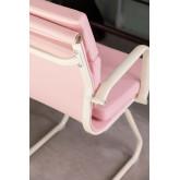 Bureaustoel met armleuningen Mina Colors, miniatuur afbeelding 6