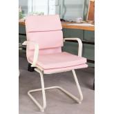 Bureaustoel met armleuningen Mina Colors, miniatuur afbeelding 1