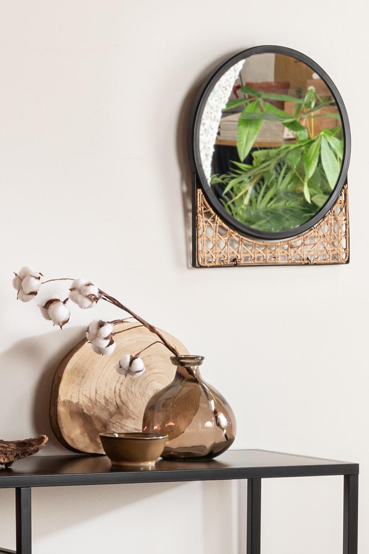 Vaas van gerecycled glas 21,5 cm Jound, galerij beeld 1
