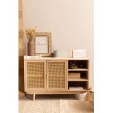 Ralik houten dressoir, miniatuur afbeelding 1