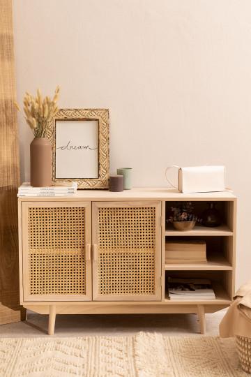 Ralik houten dressoir