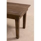 Isden opvouwbare houten eettafel (180x90 cm), miniatuur afbeelding 4
