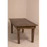 Isden opvouwbare houten eettafel (180x90 cm), miniatuur afbeelding 1