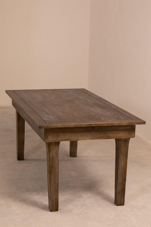 Isden opvouwbare houten eettafel (180x90 cm), galerij beeld 1