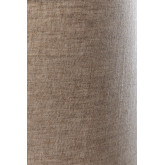 Tafellamp in linnen en hout Ulga, miniatuur afbeelding 5