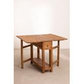 Abura Recycled Wood klaptafel, miniatuur afbeelding 2