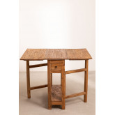 Abura Recycled Wood klaptafel, miniatuur afbeelding 4