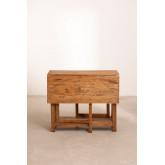 Abura Recycled Wood klaptafel, miniatuur afbeelding 5