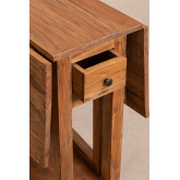 Abura Recycled Wood klaptafel, miniatuur afbeelding 6