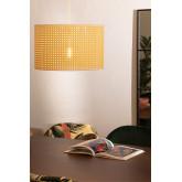 Plafondlamp in rotan sety, miniatuur afbeelding 1