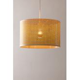 Plafondlamp in rotan sety, miniatuur afbeelding 4