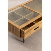 Salontafel in MDF en Ipek-glas, miniatuur afbeelding 4
