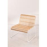 Aroa fauteuil van synthetisch rotan, miniatuur afbeelding 2