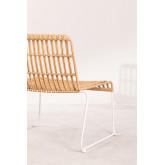 Aroa fauteuil van synthetisch rotan, miniatuur afbeelding 4