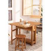 Abura Recycled Wood klaptafel, miniatuur afbeelding 1