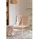 Aroa fauteuil van synthetisch rotan, miniatuur afbeelding 1