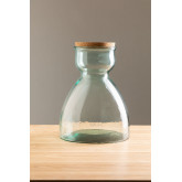 Madox helder gerecyclede glazen pot, miniatuur afbeelding 2