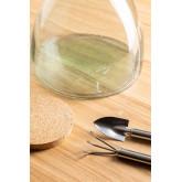 Madox helder gerecyclede glazen pot, miniatuur afbeelding 3