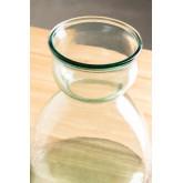 Madox helder gerecyclede glazen pot, miniatuur afbeelding 4