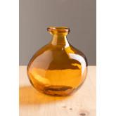 vaas van gerecycled glas 18 cm Jound, miniatuur afbeelding 1