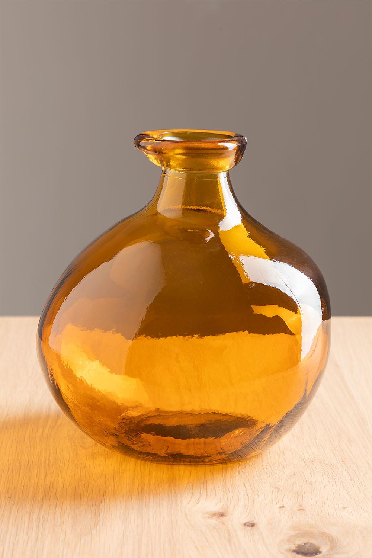 vaas van gerecycled glas 18 cm Jound, galerij beeld 1
