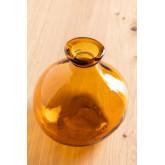 vaas van gerecycled glas 18 cm Jound, miniatuur afbeelding 2