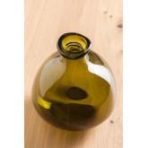 vaas van gerecycled glas 18 cm Jound, miniatuur afbeelding 3