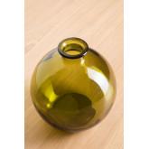 Gerecyclede glazen vaas Kimma, miniatuur afbeelding 3