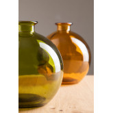 Gerecyclede glazen vaas Kimma, miniatuur afbeelding 1