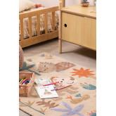 Katoenen vloerkleed (135x100 cm) Jungli Kids, miniatuur afbeelding 1